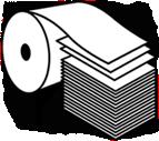Paper Reel Icon